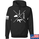 Men of Arms Apparel Slav Starter Kit Hoodie Hoodies Small / Black by Ballistic Ink - Made in America USA