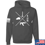 Men of Arms Apparel Slav Starter Kit Hoodie Hoodies Small / Charcoal by Ballistic Ink - Made in America USA