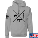 Men of Arms Apparel Slav Starter Kit Hoodie Hoodies Small / Light Grey by Ballistic Ink - Made in America USA