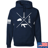 Men of Arms Apparel Slav Starter Kit Hoodie Hoodies Small / Navy by Ballistic Ink - Made in America USA