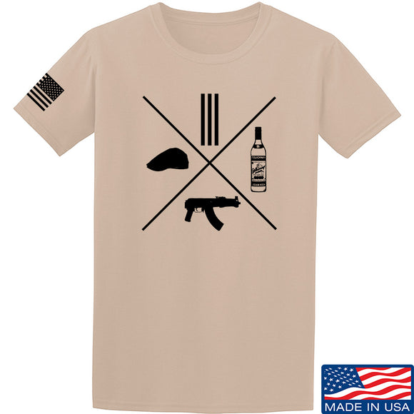 Men of Arms Apparel Slav Starter Kit T-Shirt T-Shirts Small / Sand by Ballistic Ink - Made in America USA
