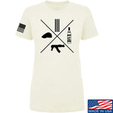 Men of Arms Apparel Ladies Slav Starter Kit T-Shirt T-Shirts SMALL / Cream by Ballistic Ink - Made in America USA