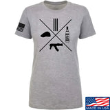 Men of Arms Apparel Ladies Slav Starter Kit T-Shirt T-Shirts SMALL / Light Grey by Ballistic Ink - Made in America USA