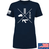 Men of Arms Apparel Ladies Slav Starter Kit T-Shirt T-Shirts SMALL / Navy by Ballistic Ink - Made in America USA