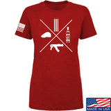 Men of Arms Apparel Ladies Slav Starter Kit T-Shirt T-Shirts SMALL / Red by Ballistic Ink - Made in America USA