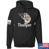 Men of Arms Apparel Thumper M79 Hoodie Hoodies Small / Black by Ballistic Ink - Made in America USA