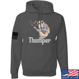 Men of Arms Apparel Thumper M79 Hoodie Hoodies Small / Charcoal by Ballistic Ink - Made in America USA