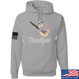 Men of Arms Apparel Thumper M79 Hoodie Hoodies Small / Light Grey by Ballistic Ink - Made in America USA