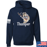 Men of Arms Apparel Thumper M79 Hoodie Hoodies Small / Navy by Ballistic Ink - Made in America USA