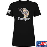 Men of Arms Apparel Ladies Thumper M79 T-Shirt T-Shirts SMALL / Black by Ballistic Ink - Made in America USA