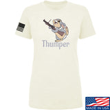 Men of Arms Apparel Ladies Thumper M79 T-Shirt T-Shirts SMALL / Cream by Ballistic Ink - Made in America USA