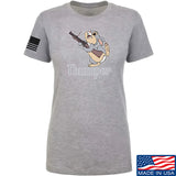 Men of Arms Apparel Ladies Thumper M79 T-Shirt T-Shirts SMALL / Light Grey by Ballistic Ink - Made in America USA