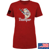 Men of Arms Apparel Ladies Thumper M79 T-Shirt T-Shirts SMALL / Red by Ballistic Ink - Made in America USA