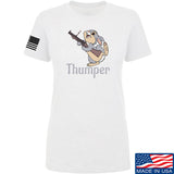 Men of Arms Apparel Ladies Thumper M79 T-Shirt T-Shirts SMALL / White by Ballistic Ink - Made in America USA