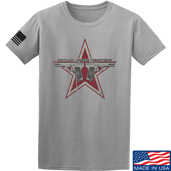 Men of Arms Apparel Tokarev T-Shirt T-Shirts Small / Light Grey by Ballistic Ink - Made in America USA