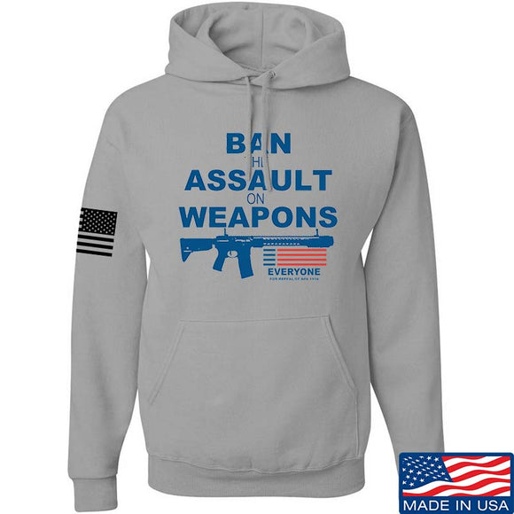 Ban the Assault on Weapons Hoodie