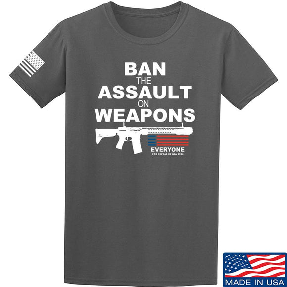 Ban the Assault on Weapons T-Shirt