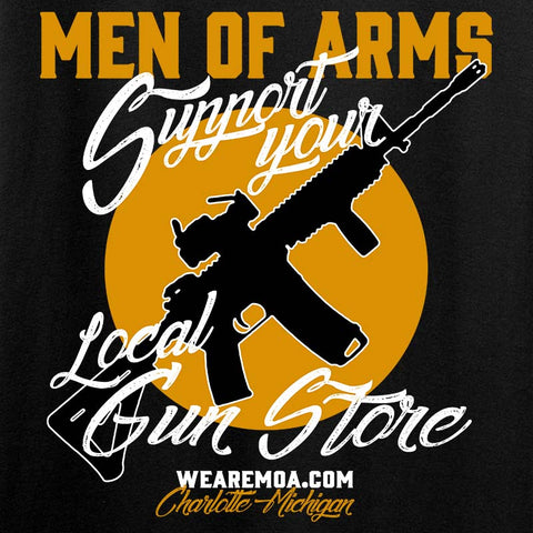 Support Your Local Gun Store 2-Sided T-Shirt