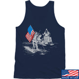 Ballistic Ink First Man on The Moon Tank Tanks SMALL / Navy by Ballistic Ink - Made in America USA