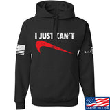 Mrgunsngear I Just Can't Hoodie Hoodies Small / Black by Ballistic Ink - Made in America USA