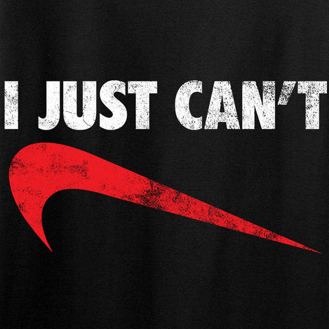 Mrgunsngear Ladies I Just Can't T-Shirt T-Shirts [variant_title] by Ballistic Ink - Made in America USA
