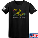 Mrgunsngear No Step On Snek T-Shirt T-Shirts Small / Black by Ballistic Ink - Made in America USA
