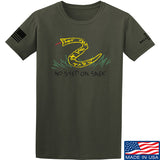 Mrgunsngear No Step On Snek T-Shirt T-Shirts Small / Military Green by Ballistic Ink - Made in America USA