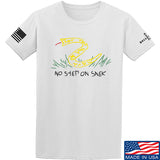 Mrgunsngear No Step On Snek T-Shirt T-Shirts Small / White by Ballistic Ink - Made in America USA