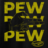 Mrgunsngear Pew Pew Pew T-Shirt T-Shirts [variant_title] by Ballistic Ink - Made in America USA