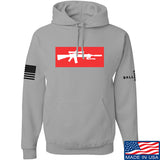 Mrgunsngear Supreme Mk12 Hoodie Hoodies Small / Light Grey by Ballistic Ink - Made in America USA