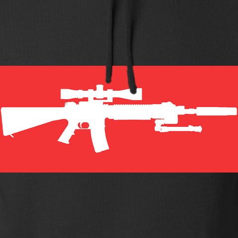Mrgunsngear Supreme Mk12 Hoodie Hoodies [variant_title] by Ballistic Ink - Made in America USA
