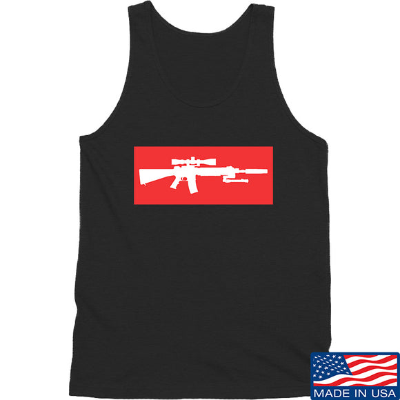 Mrgunsngear Supreme Mk12 Tank Tanks SMALL / Black by Ballistic Ink - Made in America USA