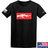 Mrgunsngear Supreme Mk12 T-Shirt T-Shirts Small / Black by Ballistic Ink - Made in America USA