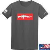 Mrgunsngear Supreme Mk12 T-Shirt T-Shirts Small / Charcoal by Ballistic Ink - Made in America USA