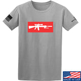 Mrgunsngear Supreme Mk12 T-Shirt T-Shirts Small / Light Gray by Ballistic Ink - Made in America USA