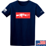 Mrgunsngear Supreme Mk12 T-Shirt T-Shirts Small / Navy by Ballistic Ink - Made in America USA