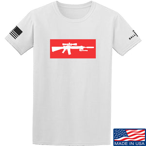 Mrgunsngear Supreme Mk12 T-Shirt T-Shirts Small / Military Green by Ballistic Ink - Made in America USA