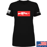 Mrgunsngear Ladies Supreme Mk12 T-Shirt T-Shirts SMALL / Black by Ballistic Ink - Made in America USA