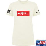 Mrgunsngear Ladies Supreme Mk12 T-Shirt T-Shirts SMALL / Cream by Ballistic Ink - Made in America USA