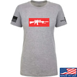 Mrgunsngear Ladies Supreme Mk12 T-Shirt T-Shirts SMALL / Light Grey by Ballistic Ink - Made in America USA