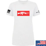 Mrgunsngear Ladies Supreme Mk12 T-Shirt T-Shirts SMALL / White by Ballistic Ink - Made in America USA