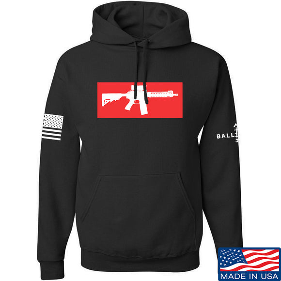 Mrgunsngear Supreme Mk18 Hoodie Hoodies Small / Black by Ballistic Ink - Made in America USA