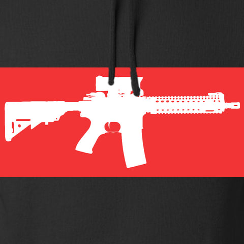 Mrgunsngear Supreme Mk18 Hoodie Hoodies [variant_title] by Ballistic Ink - Made in America USA