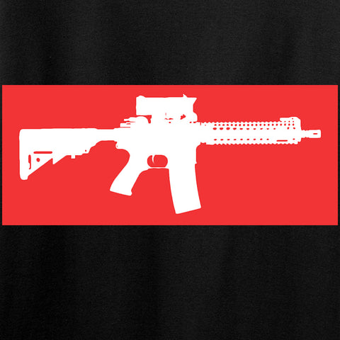 Mrgunsngear Supreme Mk18 T-Shirt T-Shirts [variant_title] by Ballistic Ink - Made in America USA
