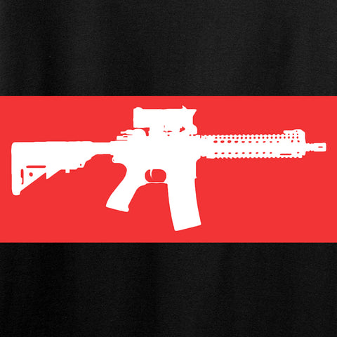 Mrgunsngear Ladies Supreme Mk18 T-Shirt T-Shirts [variant_title] by Ballistic Ink - Made in America USA