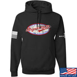 Mrgunsngear Mrgunsngear Logo Hoodie Hoodies Small / Black by Ballistic Ink - Made in America USA
