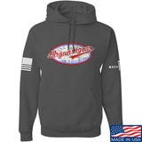 Mrgunsngear Mrgunsngear Logo Hoodie Hoodies Small / Charcoal by Ballistic Ink - Made in America USA
