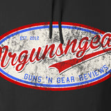 Mrgunsngear Mrgunsngear Logo Hoodie Hoodies [variant_title] by Ballistic Ink - Made in America USA