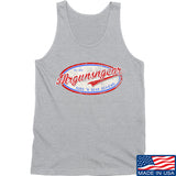 Mrgunsngear Mrgunsngear Logo Tank Tanks SMALL / Light Grey by Ballistic Ink - Made in America USA