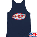 Mrgunsngear Mrgunsngear Logo Tank Tanks SMALL / Navy by Ballistic Ink - Made in America USA